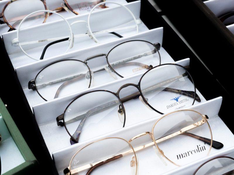 Bild Brillen in Auslage