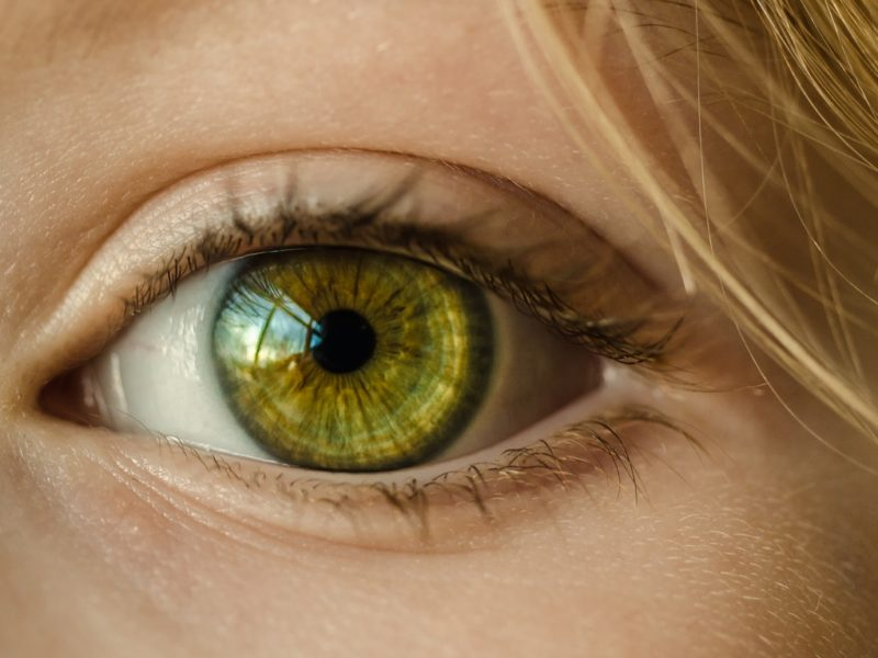 Bild Auge Kontaktlinse